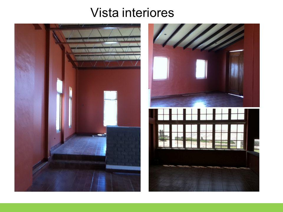 Vista interiores