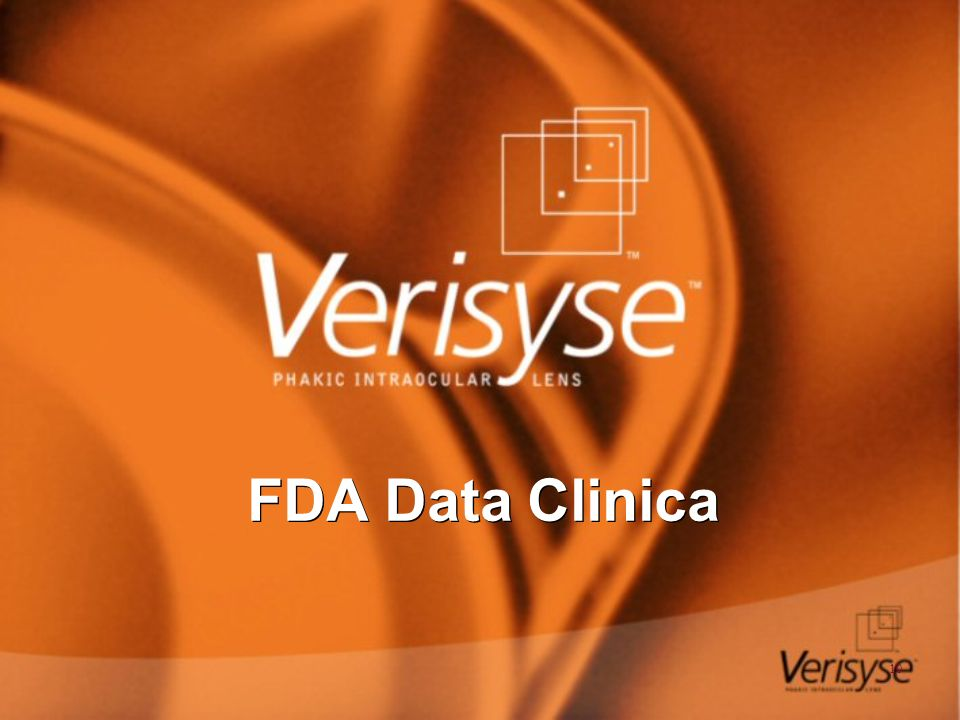 FDA Data Clinica