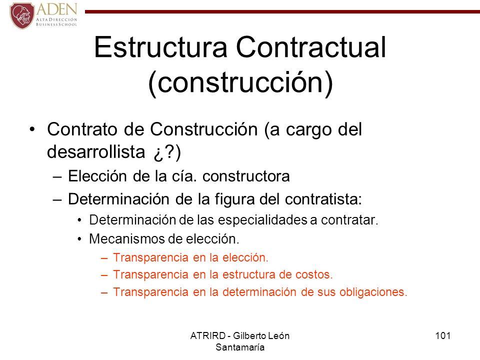 Estructura Contractual (construcción)