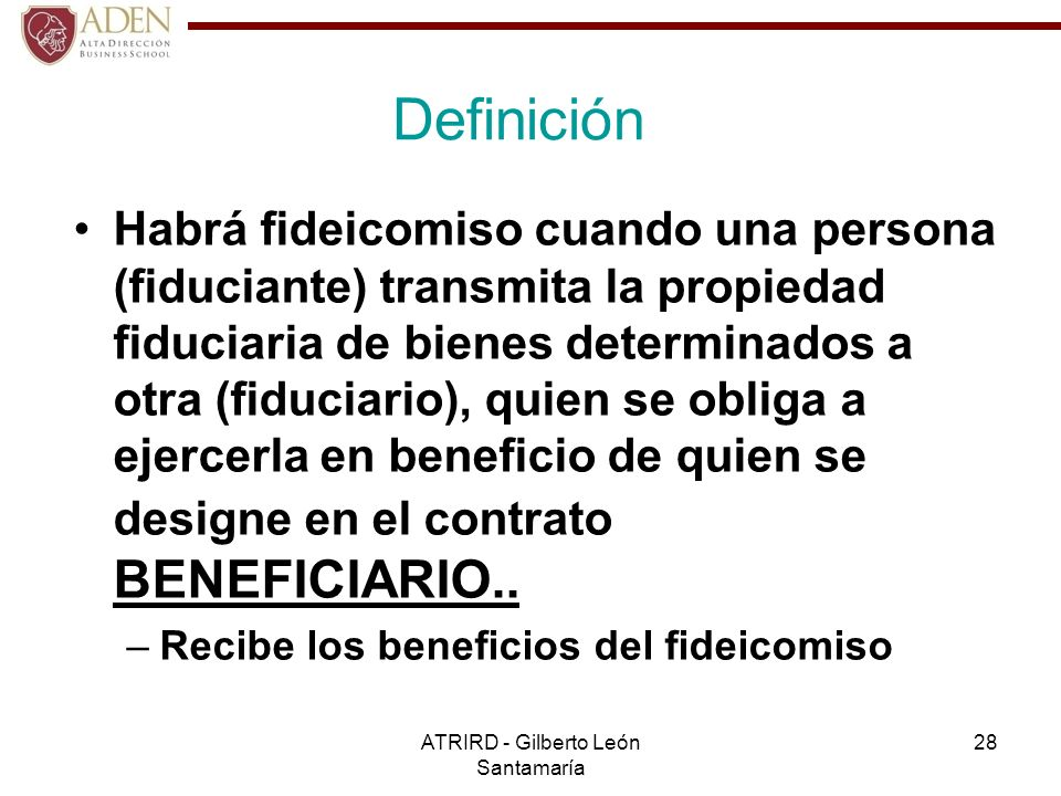 ATRIRD - Gilberto León Santamaría