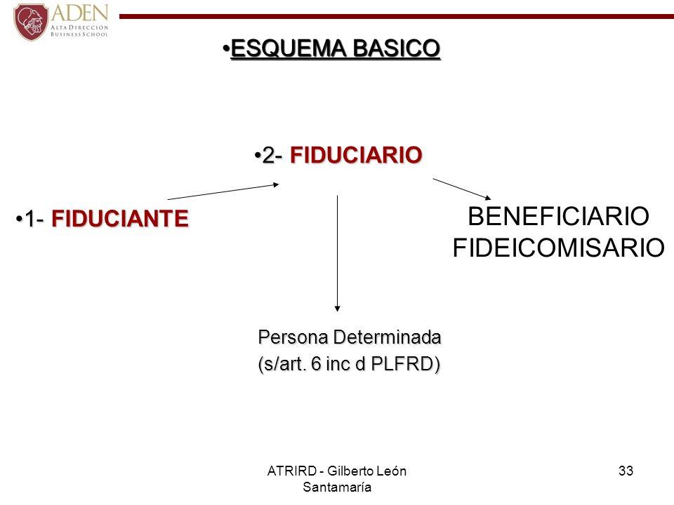 BENEFICIARIO FIDEICOMISARIO