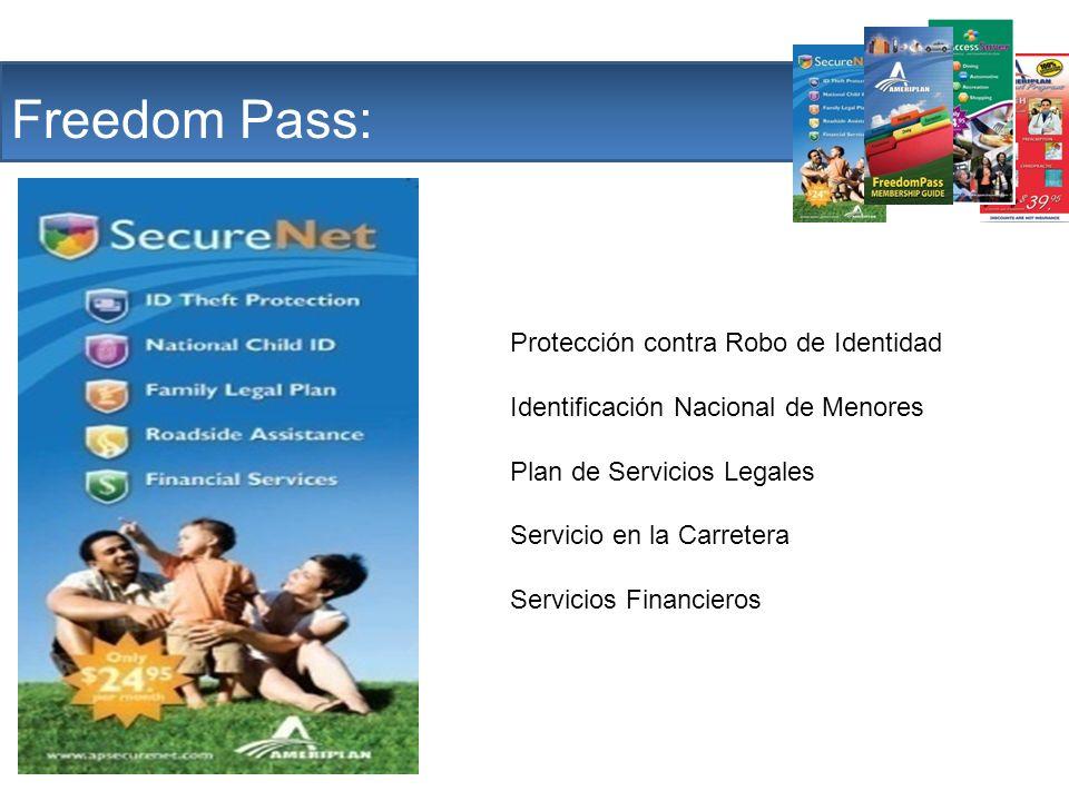 The Company Freedom Pass: Protección contra Robo de Identidad