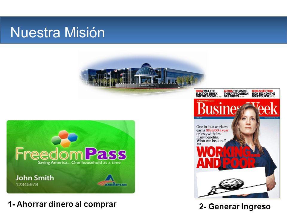 The Company Nuestra Misión 1- Ahorrar dinero al comprar