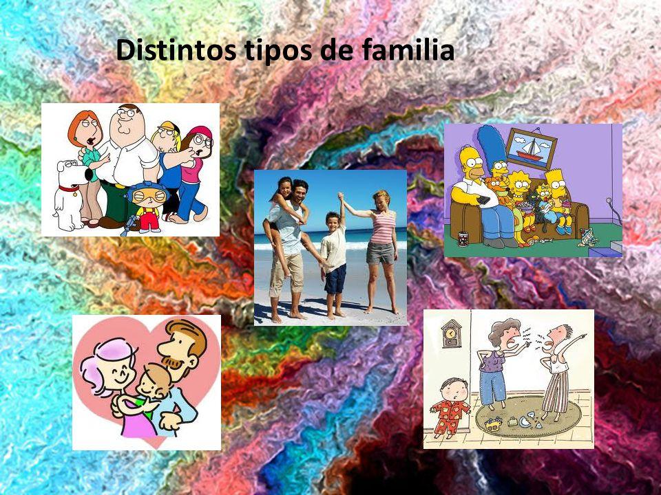 Distintos tipos de familia