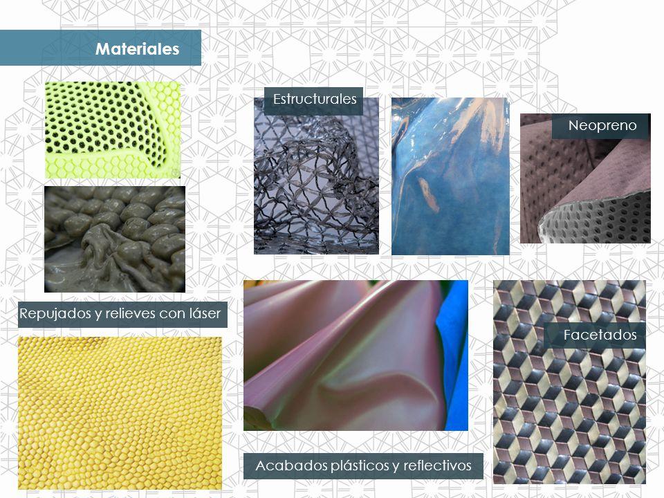 Materiales Estructurales Neopreno Repujados y relieves con láser