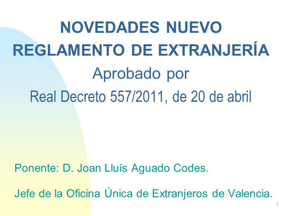 4 2 2017 novedades nuevo reglamento de extranjer a for Clausula suelo real decreto 1 2017