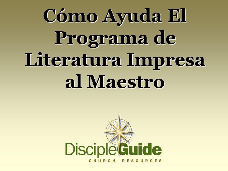 Cómo Ayuda El Programa de Literatura Impresa al Maestro