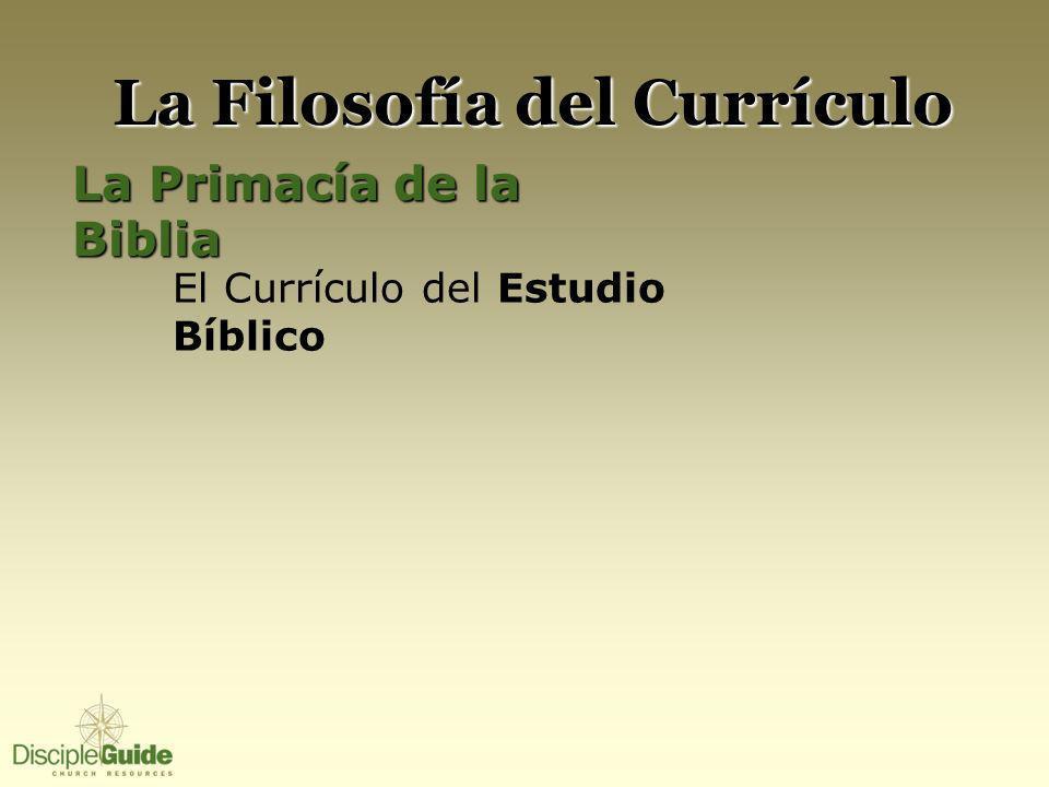 La Filosofía del Currículo