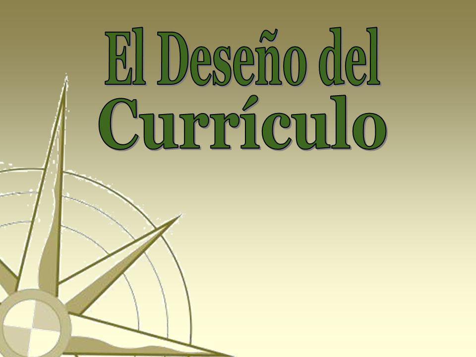 El Deseño del Currículo