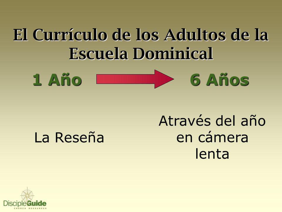 El Currículo de los Adultos de la Escuela Dominical