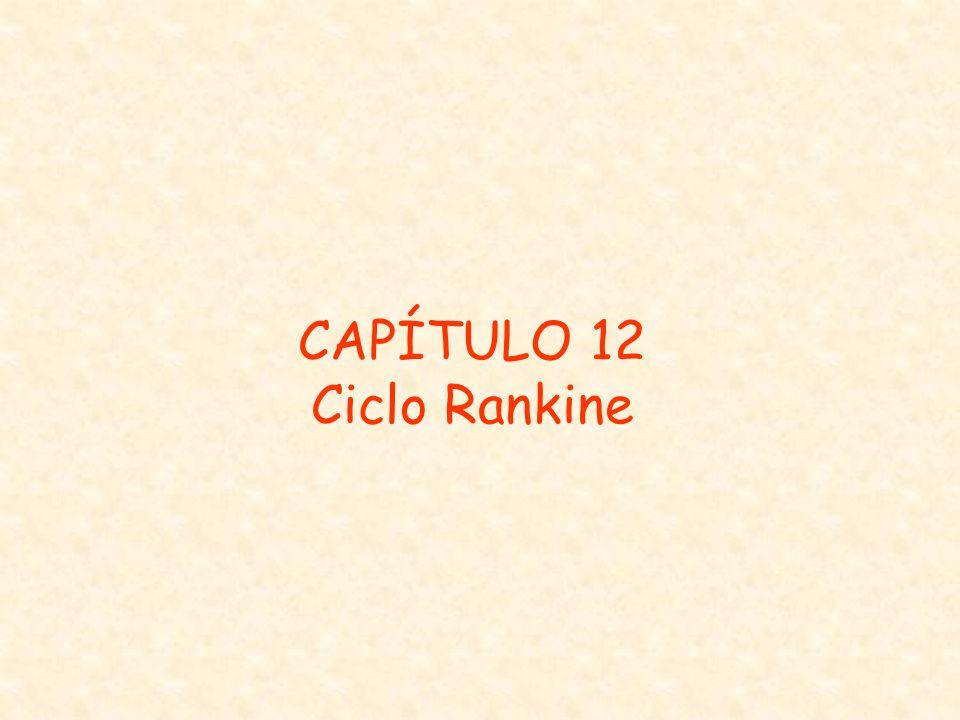 CAPÍTULO 12 Ciclo Rankine
