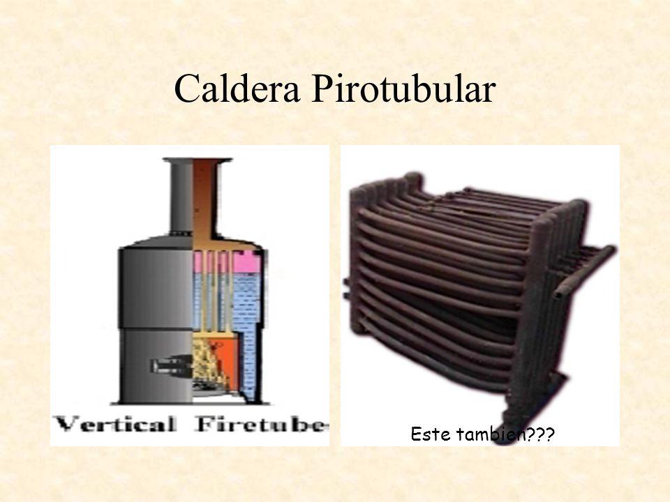 Caldera Pirotubular Este tambien