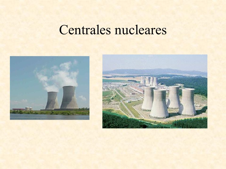 Centrales nucleares