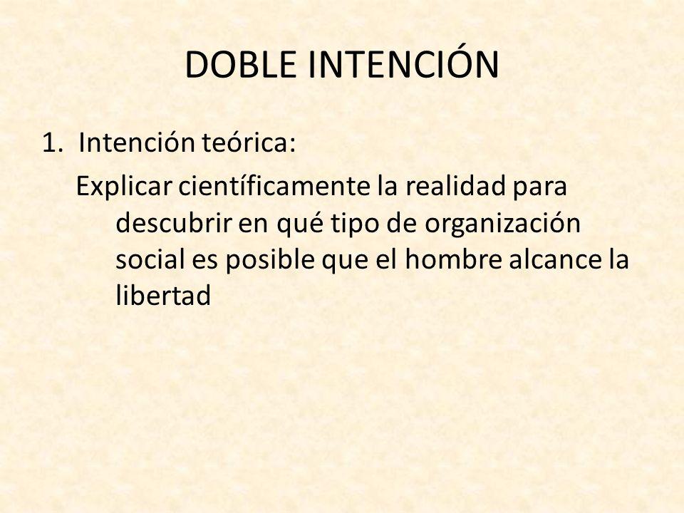 DOBLE INTENCIÓN