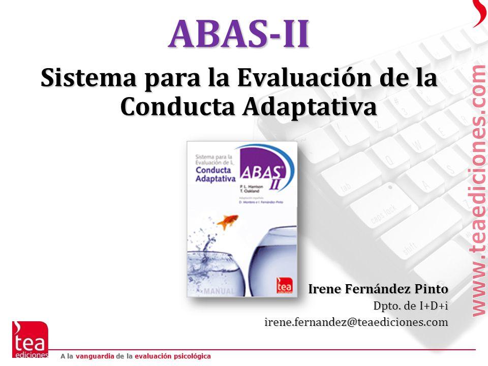 Sistema para la Evaluación de la Conducta Adaptativa