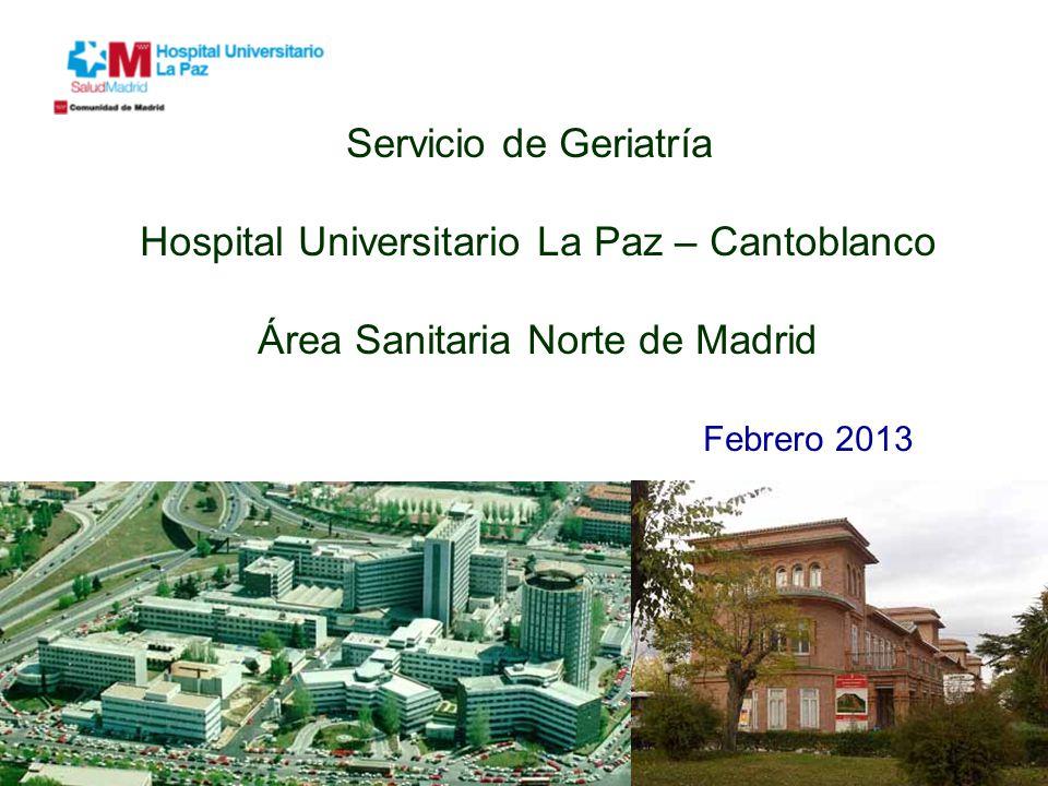 Hospital universitario la paz cantoblanco ppt descargar - Hospital universitario de la paz ...
