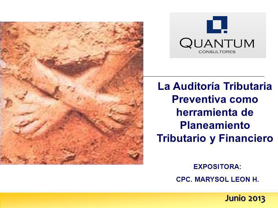 La Auditoría Tributaria Preventiva como herramienta de Planeamiento Tributario y Financiero