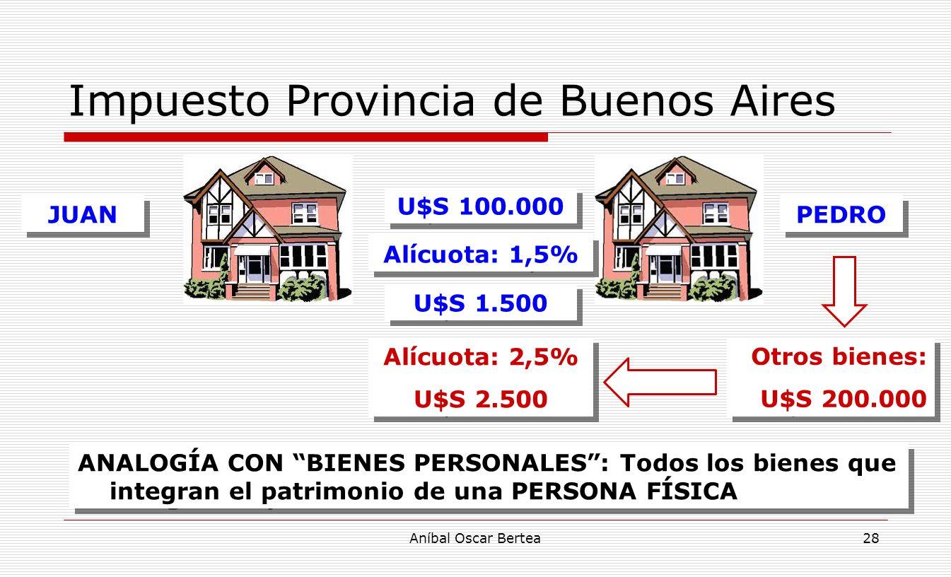 Impuesto Provincia de Buenos Aires