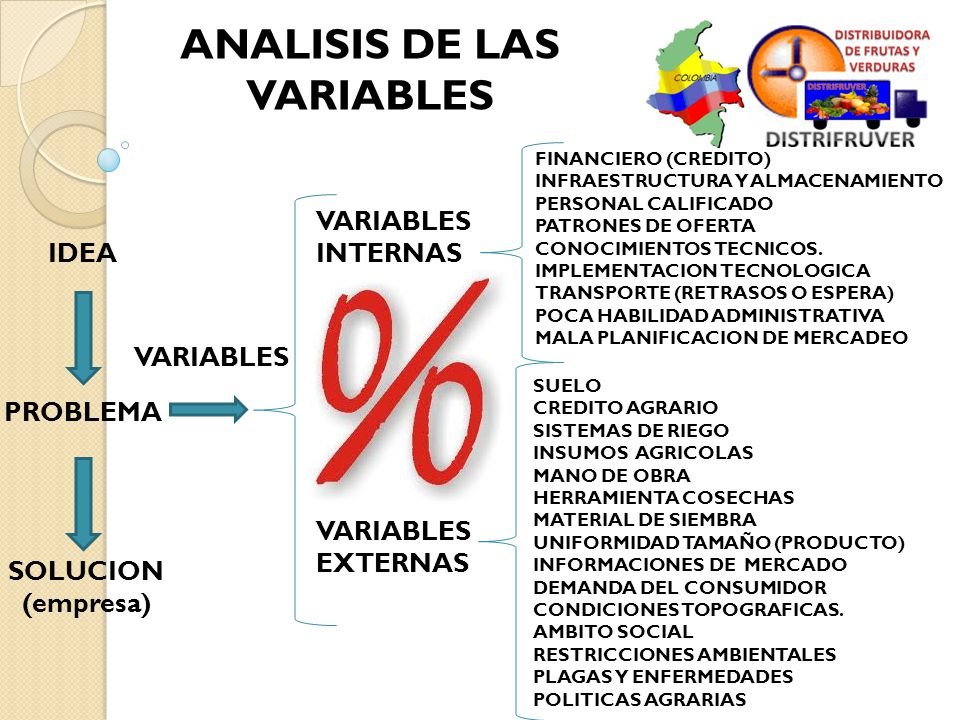 ANALISIS DE LAS VARIABLES