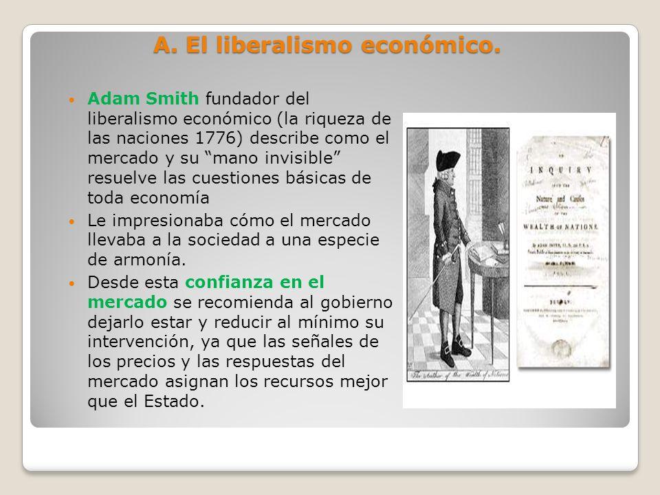 A. El liberalismo económico.