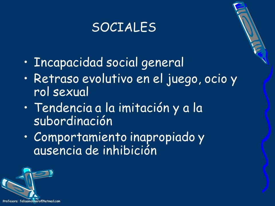 Incapacidad social general