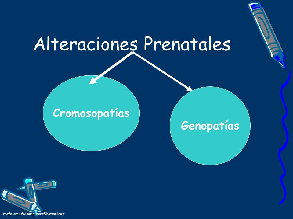 Alteraciones Prenatales