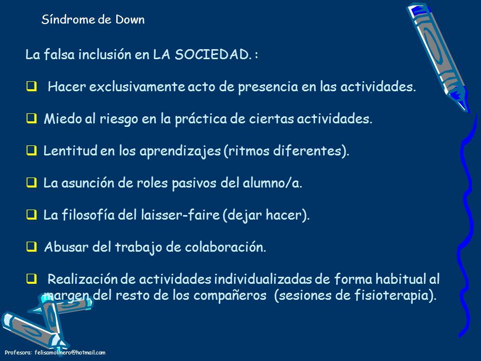 La falsa inclusión en LA SOCIEDAD. :