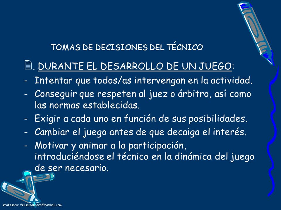 TOMAS DE DECISIONES DEL TÉCNICO