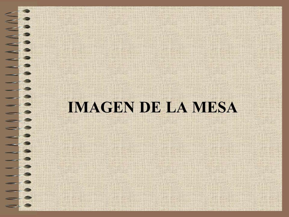 IMAGEN DE LA MESA
