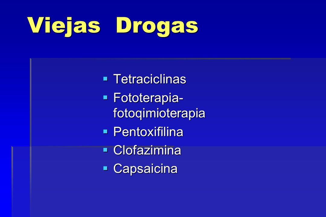 Viejas Drogas Tetraciclinas Fototerapia- fotoqimioterapia