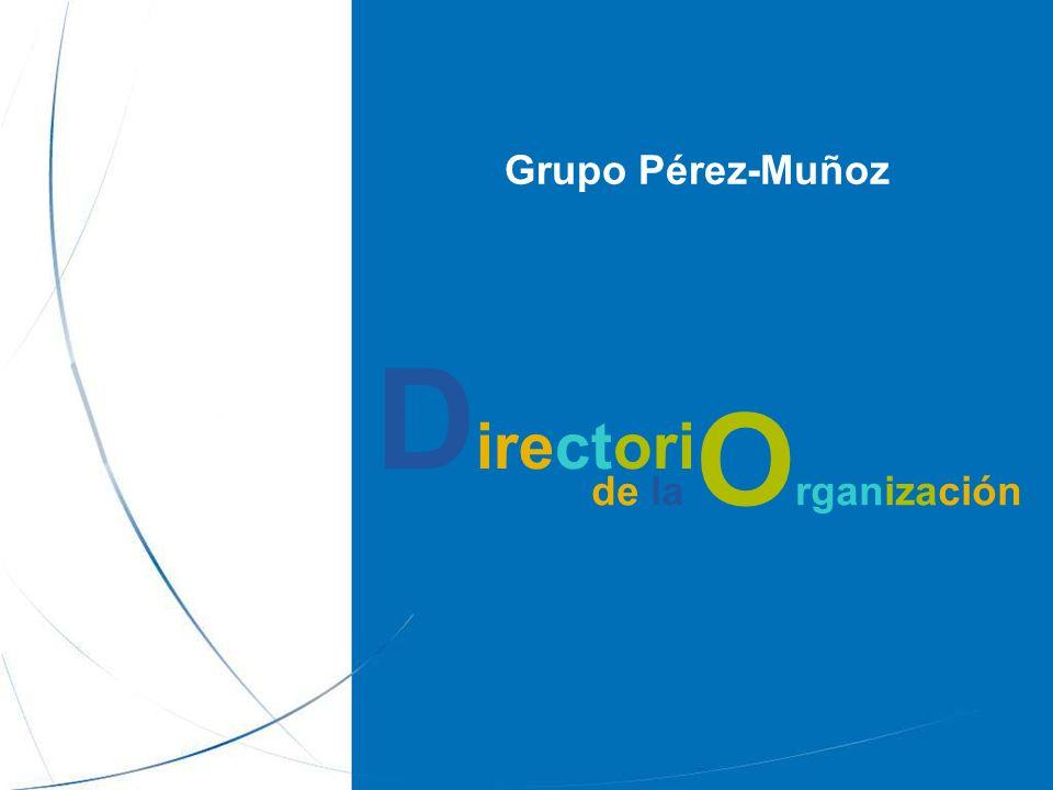 Grupo Pérez-Muñoz Directori de la Organización