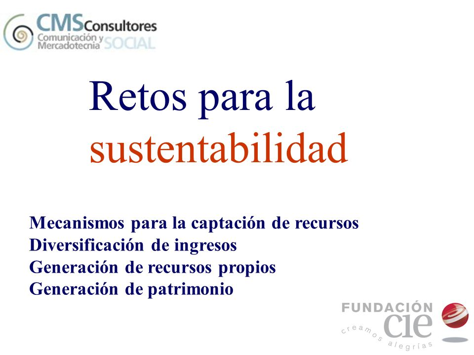 Retos para la sustentabilidad