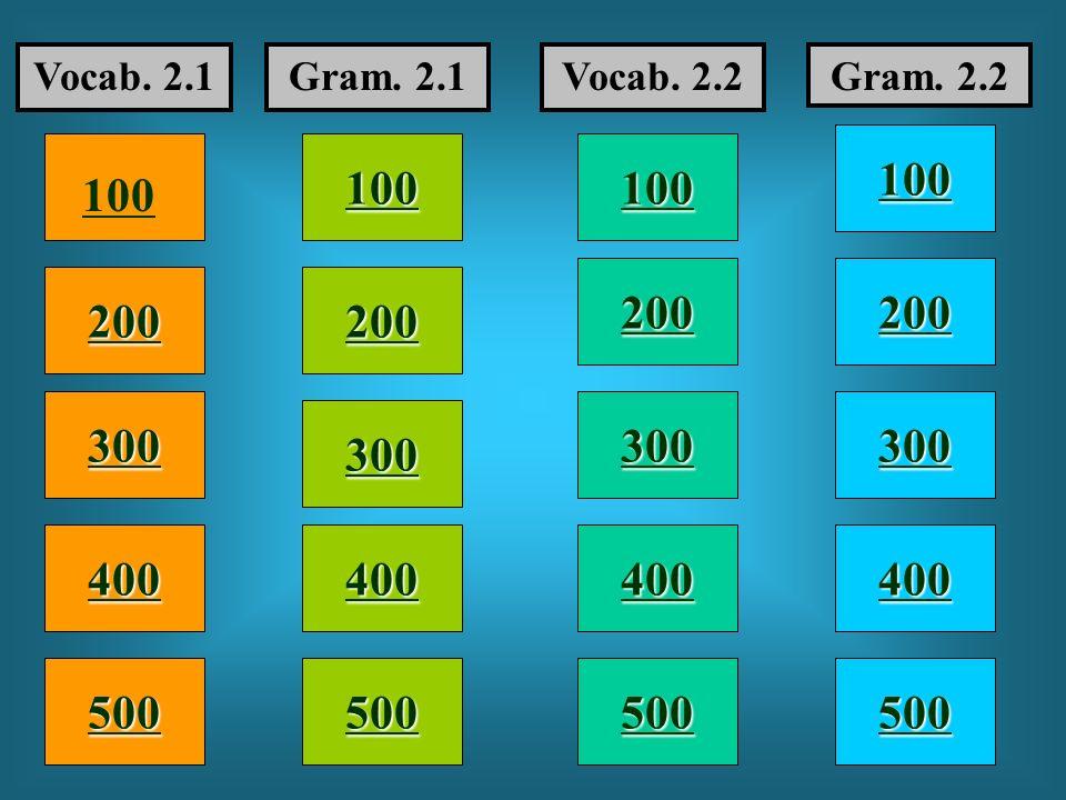 Vocab. 2.1 Gram. 2.1. Vocab. 2.2. Gram. 2.2. 100. 100. 100. 100. 200. 200. 200. 200. 300.