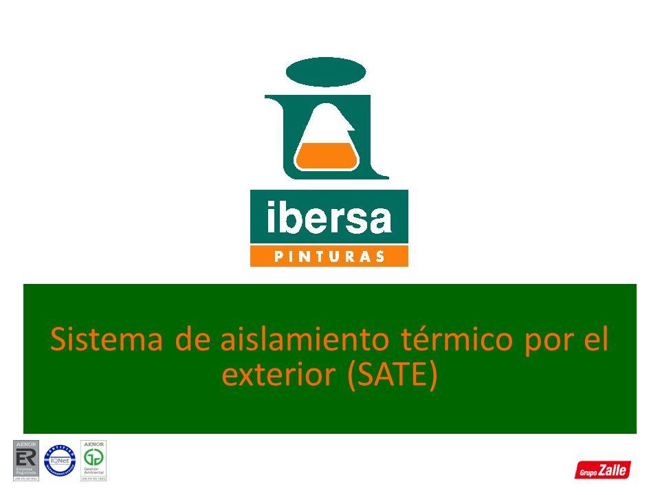 Sistema de aislamiento térmico por el exterior (SATE)