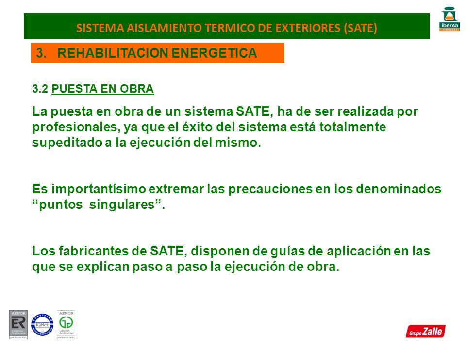 SISTEMA AISLAMIENTO TERMICO DE EXTERIORES (SATE)