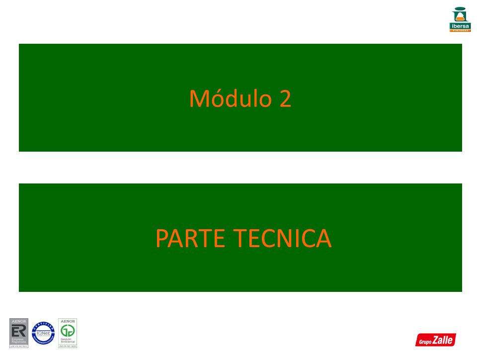 Módulo 2 PARTE TECNICA
