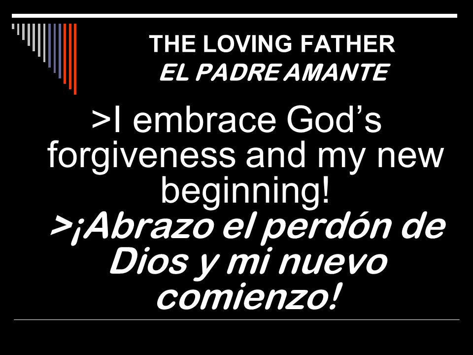 THE LOVING FATHER EL PADRE AMANTE