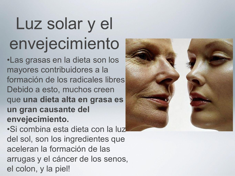 Luz solar y el envejecimiento