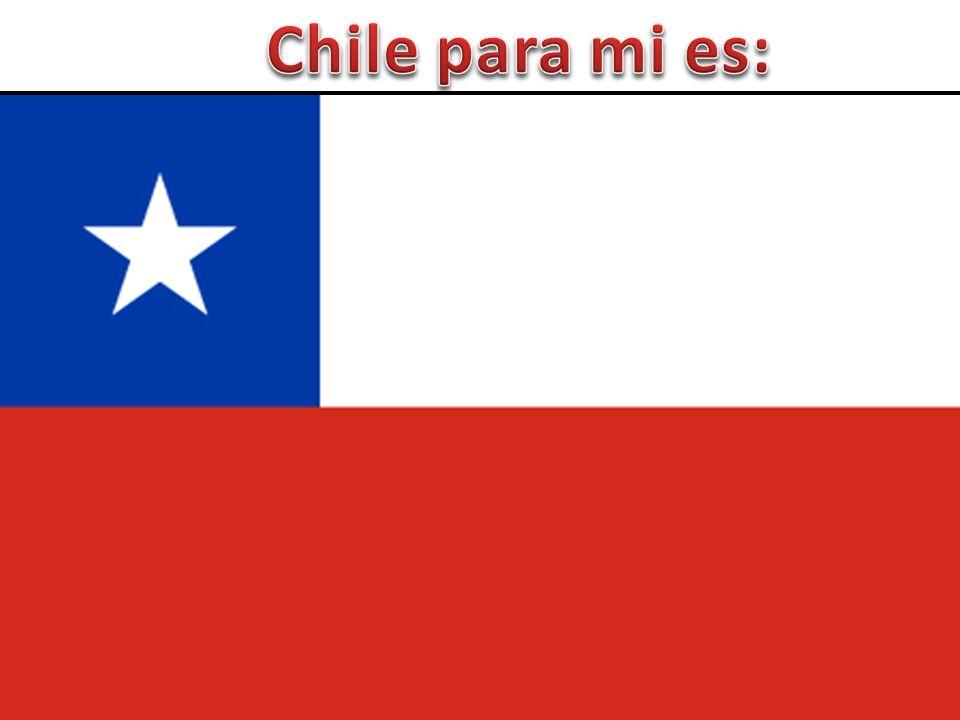 Chile para mi es: