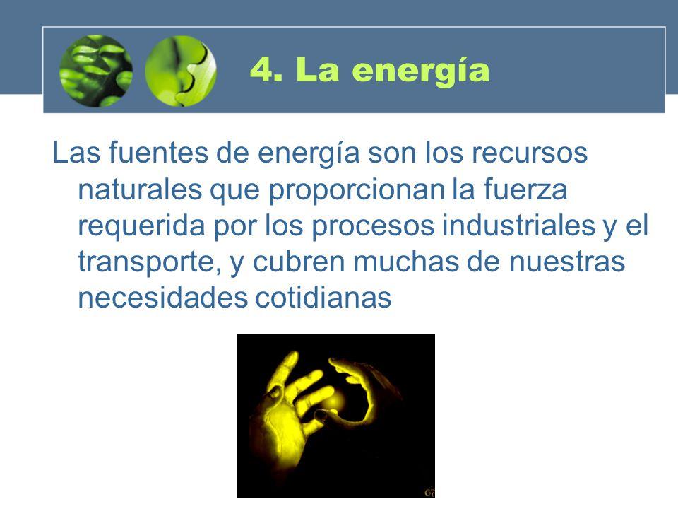 4. La energía