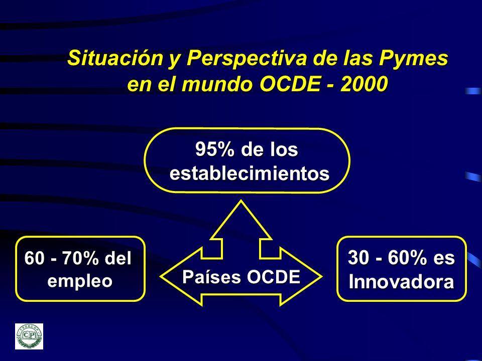 Situación y Perspectiva de las Pymes en el mundo OCDE - 2000