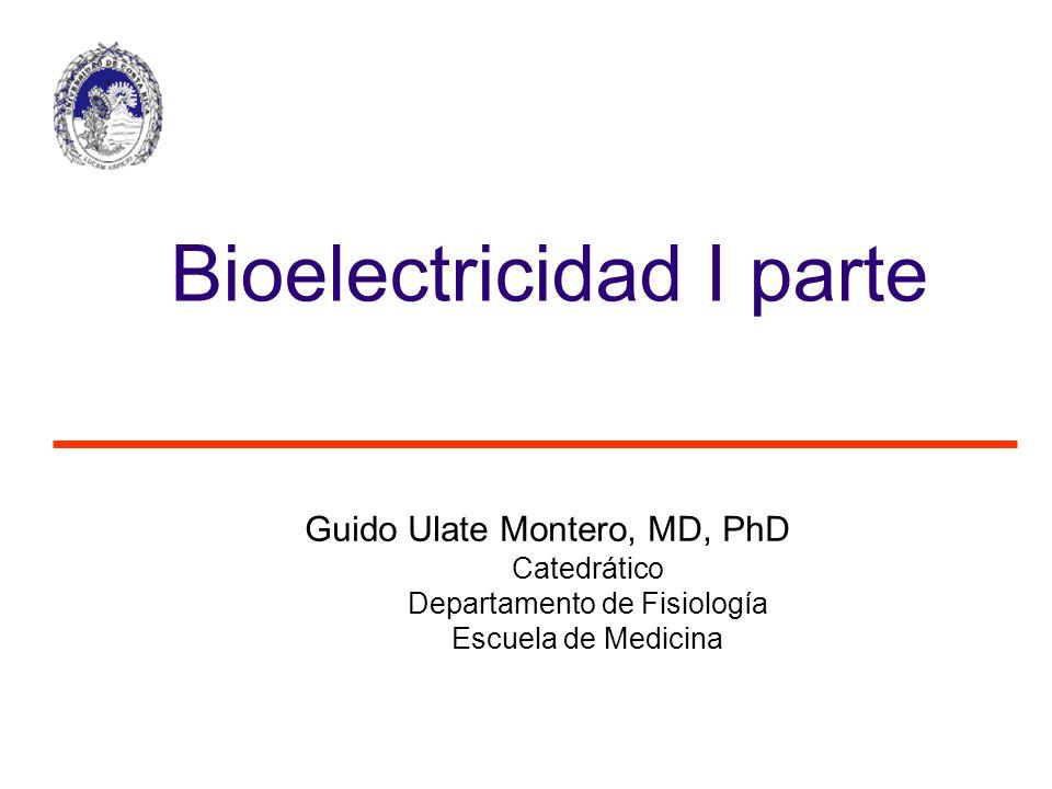 Bioelectricidad I parte