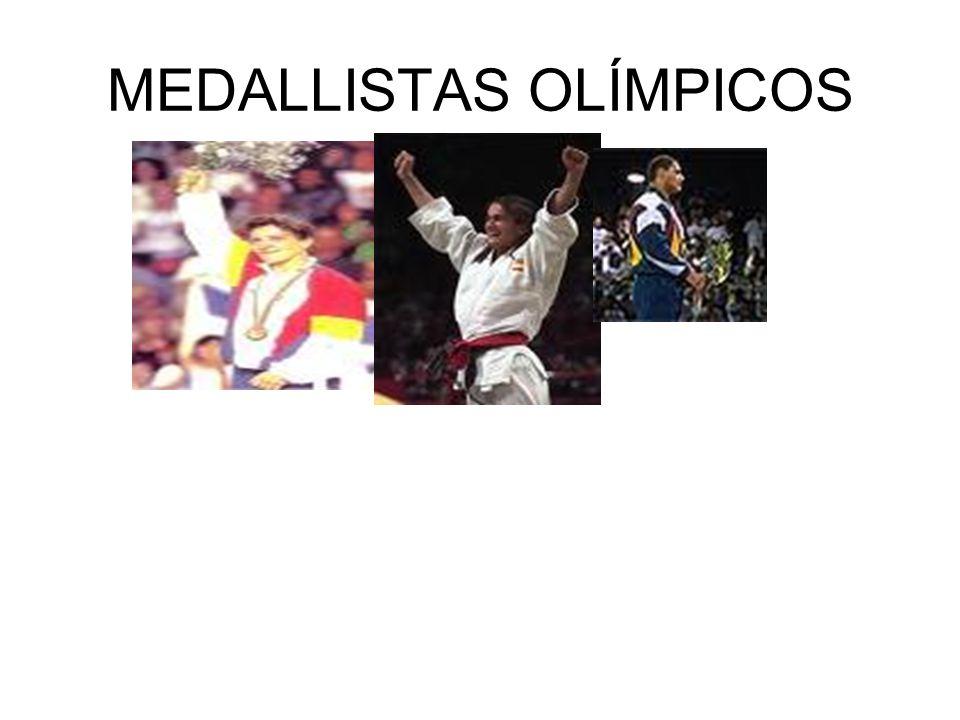 MEDALLISTAS OLÍMPICOS