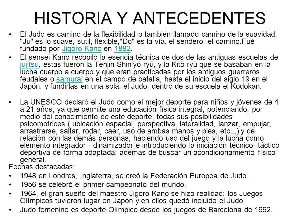 HISTORIA Y ANTECEDENTES
