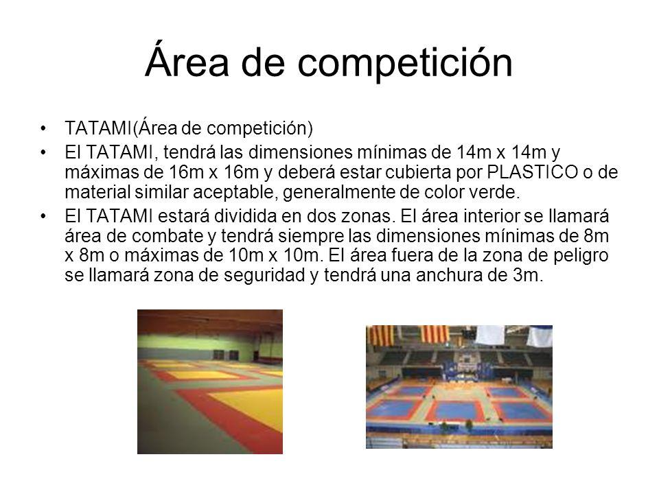 Área de competición TATAMI(Área de competición)