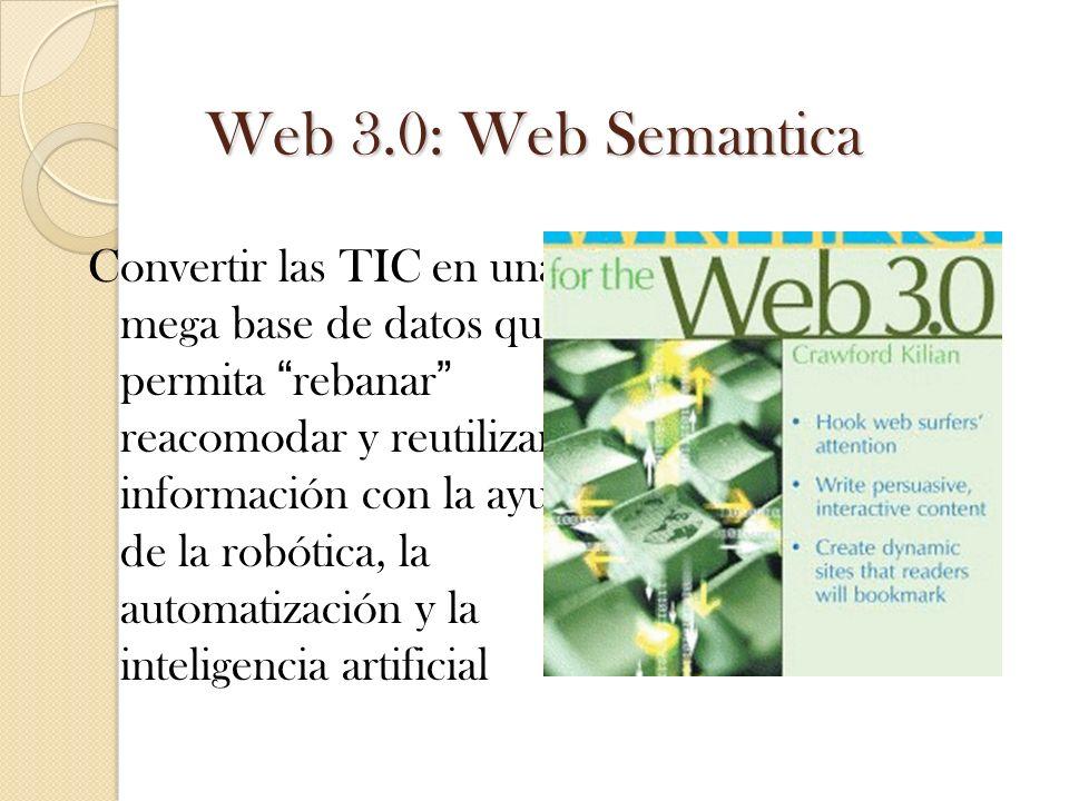 Web 3.0: Web Semantica