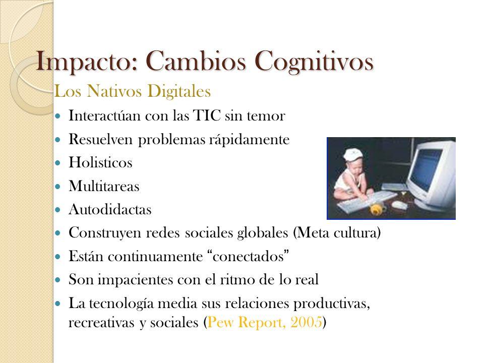 Impacto: Cambios Cognitivos