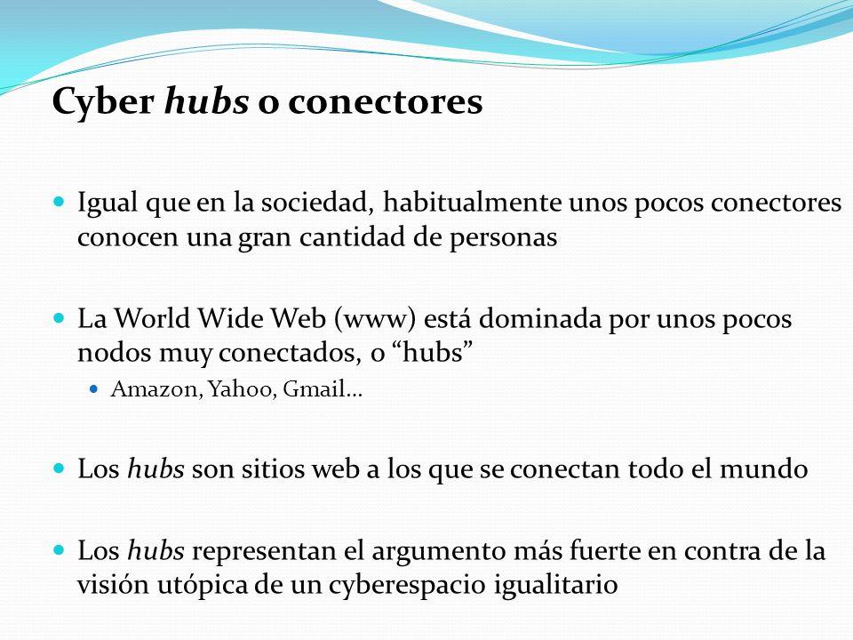 Cyber hubs o conectores