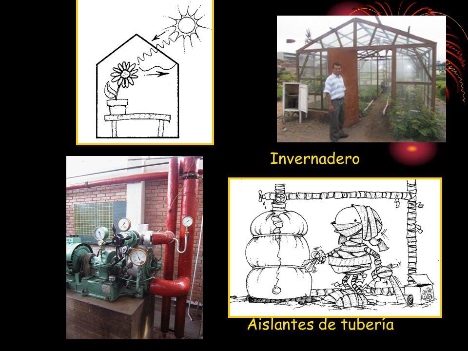 Invernadero Aislantes de tubería