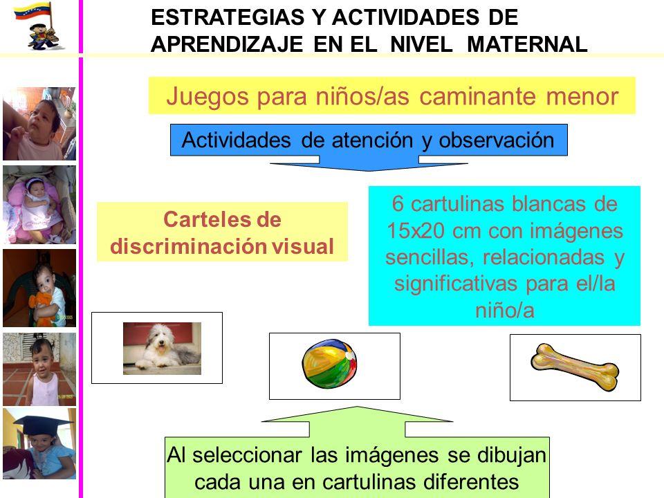 Carteles de discriminación visual